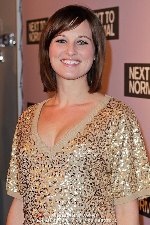 NLD/Amsterdam/20120116 - Premiere Next to Normal, zwangere Brigitte Heitzer