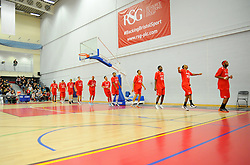 Wise Arena. - Photo mandatory by-line: Nizaam Jones- Mobile: 07583 387221 - 08/11/2014 - SPORT - Basketball - Bristol - SGS Wise Campus - Bristol Flyers  v Cheshire Phoenix - Sport