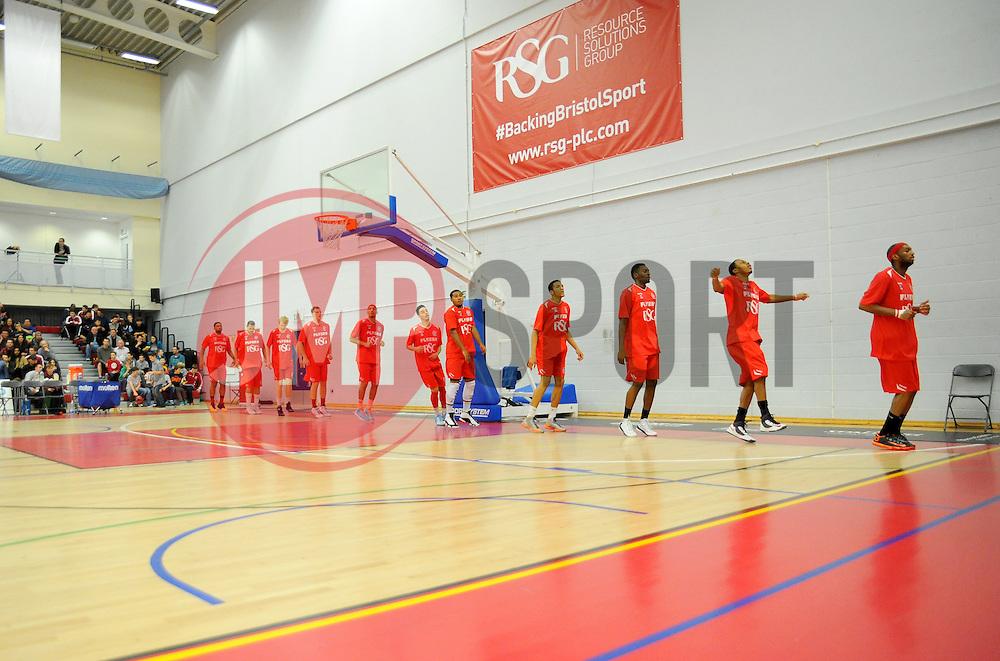 Wise Arena. - Photo mandatory by-line: Nizaam Jones- Mobile: 07583 387221 - 08/11/2014 - SPORT - Basketball - Bristol - SGS Wise Campus - Bristol Flyers  v Cheshire Phoenix - Sport