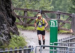 23.07.2016, Kals, AUT, Grossglockner Ultra Trail 2016, im Bild Vorjahressieger Amon Markus (AUT) // during the 2016 Grossglockner Ultra Trail. Kals, Austria on 2016/07/23. EXPA Pictures © 2015, PhotoCredit: EXPA/ Johann Groder