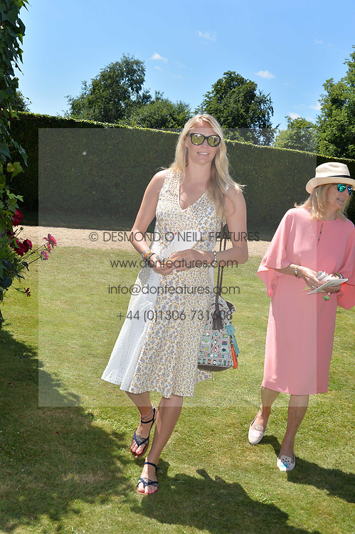 Jodie Kidd at the Cartier Style et Luxe at the Goodwood Festival of Speed, Goodwood, West Sussex, England. 2 July 2017.<br /> Photo by Dominic O'Neill/SilverHub 0203 174 1069 sales@silverhubmedia.com
