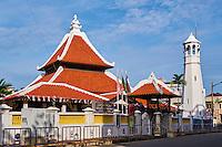Malaisie, état de Malacca, Malacca, Centre historique, patrimoine Mondial de l'Unesco, Chinatown, mosquée Kampung Hulu // Malaysia, Malacca state, Malacca, Unesco Wold Heritage, Chinatown, Kampung Hulu mosque
