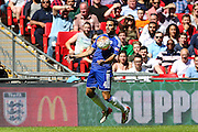 Chelsea's Cesc Fabregas during the FA Community Shield match between Chelsea and Arsenal at Wembley Stadium, London, England on 2 August 2015. Photo by Shane Healey.