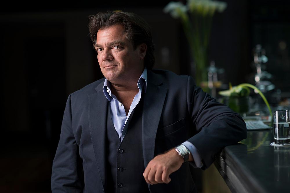 Antoine Hubert, administrateur délégué d'AEVIS Holding. Genolier, 19 avril 2013.