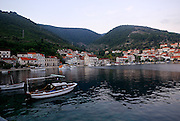 Village of Racisce, island of Korcula, Croatia