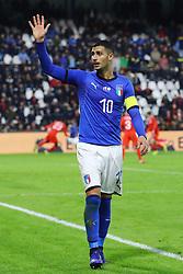 ROLANDO MANDRAGORA (ITALY)     <br /> Football friendly match Italy vs England u21<br /> Ferrara Italy November 15, 2018<br /> Photo by Filippo Rubin