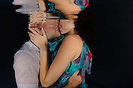 צילום טרום חתונה בריכה
