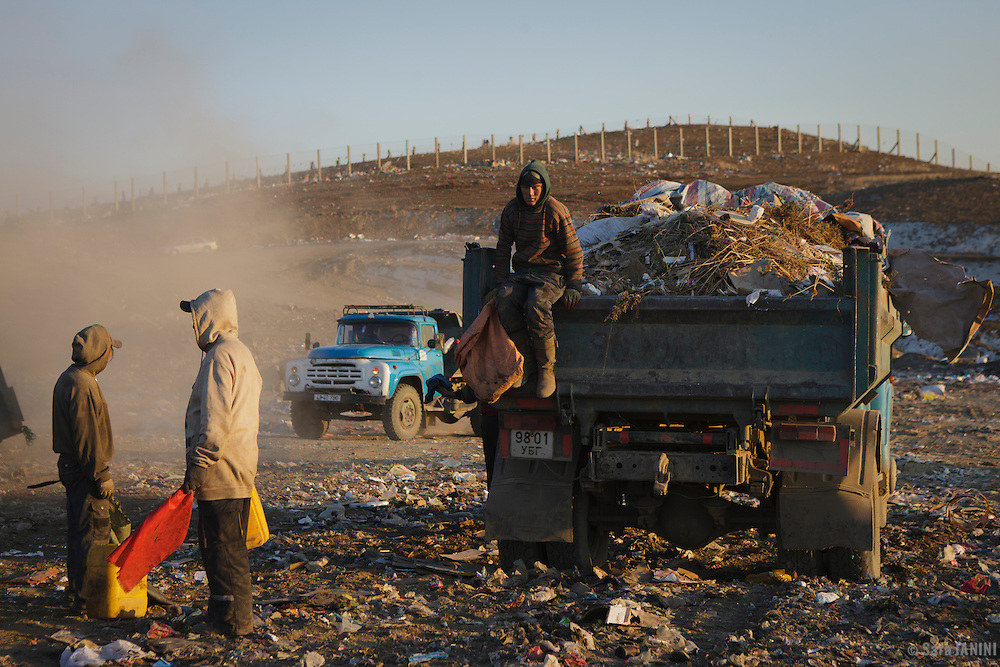 ULAN BATOR WASTE DUMP<br />