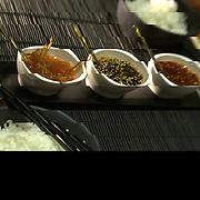 Japanese cuisine. Isla Mujeres, Mexico.