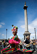 A drag queen attends the annual Gay Pride parade in London, Britain, 29 June 2013. BOGDAN MARAN / BPA