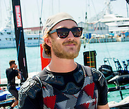 Palma de Mallorca, 03-08-2016 <br /> <br /> Pierre Casiraghi on board of Malizia catamaran during the 35th Copa del Rey Mapfre Sailing Cup day 3 in Palma de Mallorca, Spain. <br /> <br /> Photo COPYRIGHT:Royalportraits Europe/Bernard Ruebsamen