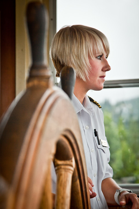 Captain Madi Binkley, Riverboat Discovery Tour, Fairbanks, Alaska