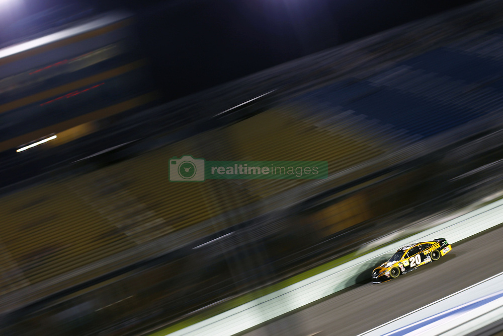 November 16, 2018 - Homestead, Florida, U.S. - Erik Jones (20) takes to the track to qualify for the Ford 400 at Homestead-Miami Speedway in Homestead, Florida. (Credit Image: © Justin R. Noe Asp Inc/ASP)