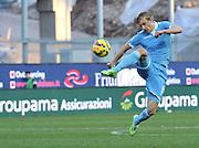 Udine, 15 febbraio 2015<br /> Serie A 2014/15. 23^ giornata.<br /> Stadio Friuli.<br /> Udinese vs Lazio<br /> Nella foto: il difensore della Lazio Dusan Basta.<br /> © foto di Simone Ferraro