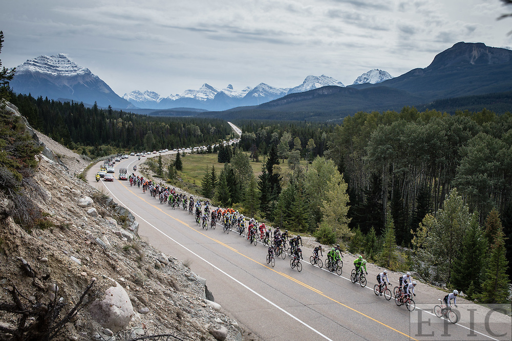 JASPER, ALBERTA, CANADA - SEPTEMBER 5: Tour of Alberta on September 5, 2015 in Jasper, Alberta, Canada. (Photo by Jonathan Devich/Getty Images) *** LOCAL CAPTION ***