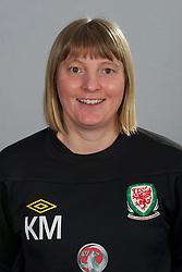 TREFOREST, WALES - Tuesday, February 14, 2011: Wales' coach Kath Morgan. (Pic by David Rawcliffe/Propaganda)