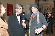 TIM TAYLOR; RON ARAD, Royal Academy Annual Dinner 2013. Piccadilly. London. 4 June 2013.