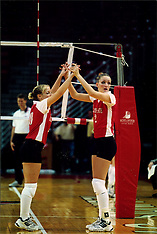 2001 Illinois State Redbirds Women's Volleyball Photos