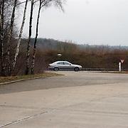Overlijden prinses Juliana, wagen beveiliging met zwaailicht, AT, arrestatieteam, BMW