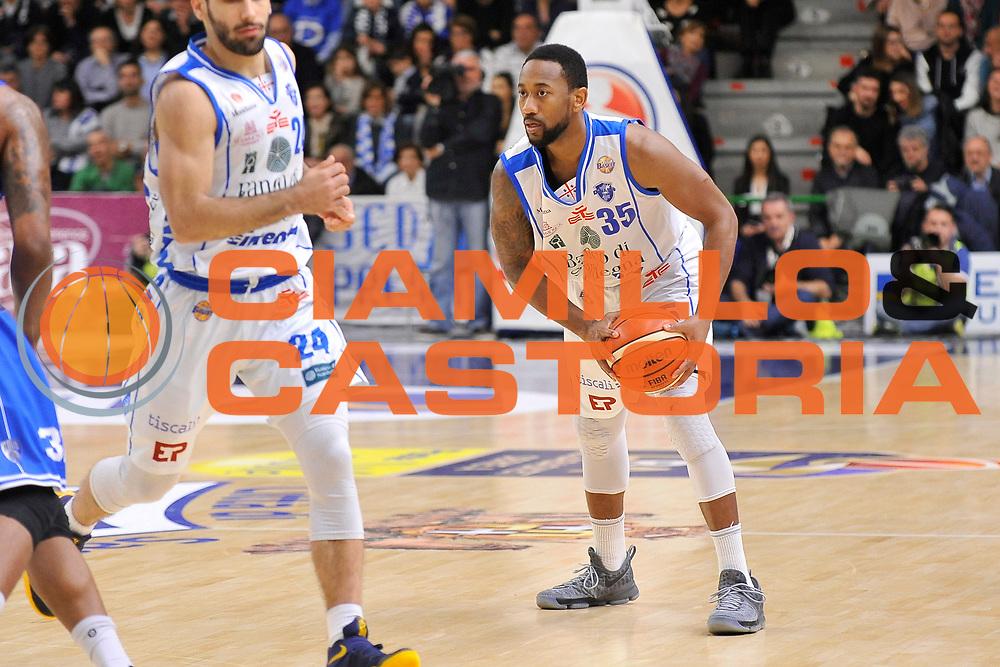 David Lighty<br /> Banco di Sardegna Dinamo Sassari - Enel New Basket Brindisi<br /> LegaBasket Serie A LBA Poste Mobile 2016/2017<br /> Sassari 02/04/2017<br /> Foto Ciamillo-Castoria