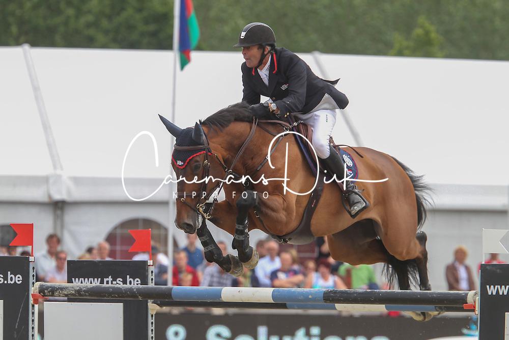 Van Der Vleuten Eric (NED) - Baranus<br /> BMW Grand Prix - CSI 3* Aalst 2012<br /> &copy; Hippo Foto - Counet Julien