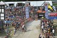 Ciclismo mountain bike world cup Dowhill uomini elite, Daolasa Val di Sole 24 Agosto  2017 © foto Daniele Mosna