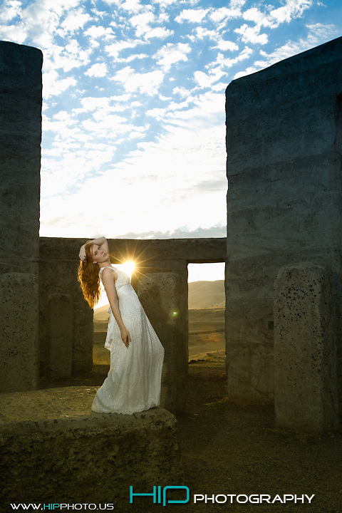Fashion Stonehenge shoot