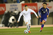Ryan Thomas (NZL), <br /> MARCH 5, 2014 - Football /Soccer : <br /> Kirin Challenge Cup 2014<br /> between Japan 4-2 New Zealand <br /> at National Stadium, Tokyo, Japan. <br /> (Photo by YUTAKA/AFLO SPORT)