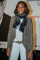 French football team captain Wendie Renard attends the Opening Ceremony of the 7th Film Festival Lumiere on October 12, 2015 in Lyon, France.