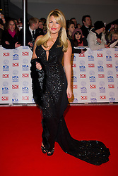 Sam Faiers arrives at the National Television Awards at the 02 Arena, London Wednesday January 23, 2013. Photo by Chris Joseph / i-Images