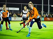 HUIZEN - hoofdklasse competitie dames, Huizen-Groningen .  Willemijn Bos (Gron.)  COPYRIGHT KOEN SUYK