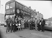 Shell bus to take people to Jurys Hotel, Shell House, <br />