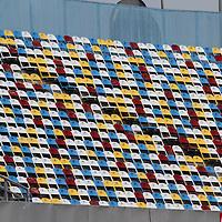 Empty seats prior to the Daytona 500 Sprint Cup race at Daytona International Speedway on February 18, 2011 in Daytona Beach, Florida. (AP Photo/Alex Menendez)
