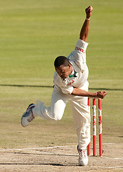 South Africa's Makhaya Ntini during the First Test at the SuperSport Park, Centurion, South Africa.