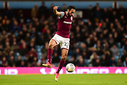 Aston Villa defender Ahmed Elmohamady (27) controls during the EFL Sky Bet Championship match between Aston Villa and Reading at Villa Park, Birmingham, England on 3 April 2018. Picture by Dennis Goodwin.