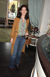 PRINCESS KARL VON AUERSPERG-BREUNNER at a lunch at Allegra Hicks, 28 Cadogan Place, London to view their new collection of handbags by F.O.U. on 20th October 2005.<br />