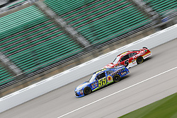 October 19, 2018 - Kansas City, Kansas, United States of America - TBA (55) takes to the track to practice for the Kansas Lottery 300 at Kansas Speedway in Kansas City, Kansas. (Credit Image: © Justin R. Noe Asp Inc/ASP via ZUMA Wire)