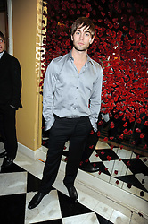 CHACE CRAWFORD at a party to celebrate the 10th Anniversary of Claridge's Bar, Claridge's Hotel, Brook Street, London on 11th November 2008.