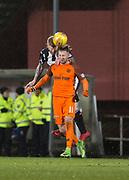 10th April 2018, Tannadice Park, Dundee, Scotland; Scottish Championship football, Dundee United versus St Mirren;