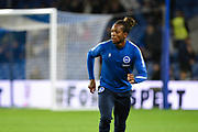 Brighton and Hove Albion defender Gaetan Bong (3) before the Premier League match between Brighton and Hove Albion and Stoke City at the American Express Community Stadium, Brighton and Hove, England on 20 November 2017. Photo by David Charbit.