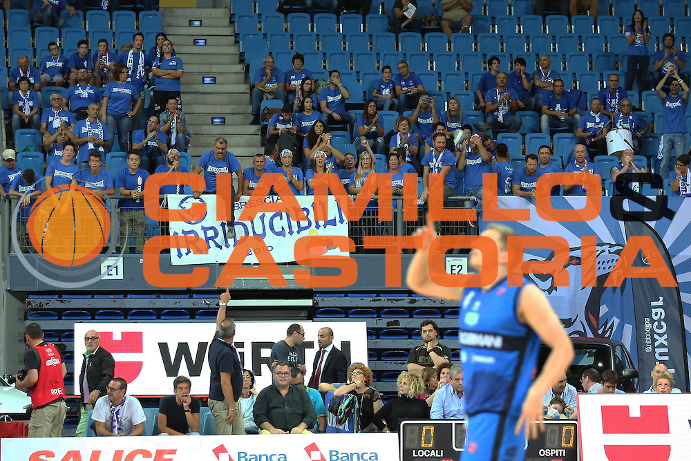 Tifosi Brescia<br /> Consultinvest VL Pesaro - Germani Basket Brescia<br /> Lega BasketSerie A 2016/2017<br /> Pesaro 02/10/2016