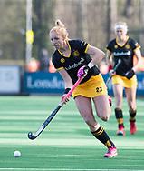 BLOEMENDAAL - Margot van Geffen (Den Bosch). hockey hoofdklasse dames Bloemendaal-Den Bosch (0-6) . COPYRIGHT KOEN SUYK