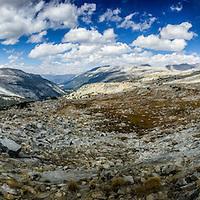 Donahue Pass - JMT, John Muir, Trail, Yosemite, Mt. Whitney, 240 miles, PCT, Pacific Crest Trail,  2015.  (EricReedPhoto.com)