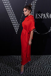 Victoria Beckham attends a Vogue Spain magazine dinner honouring Victoria Beckham at Santo Mauro Hotel on January 18, 2018 in Madrid. 18 Jan 2018 Pictured: Victoria Beckham. Photo credit: MEGA TheMegaAgency.com +1 888 505 6342