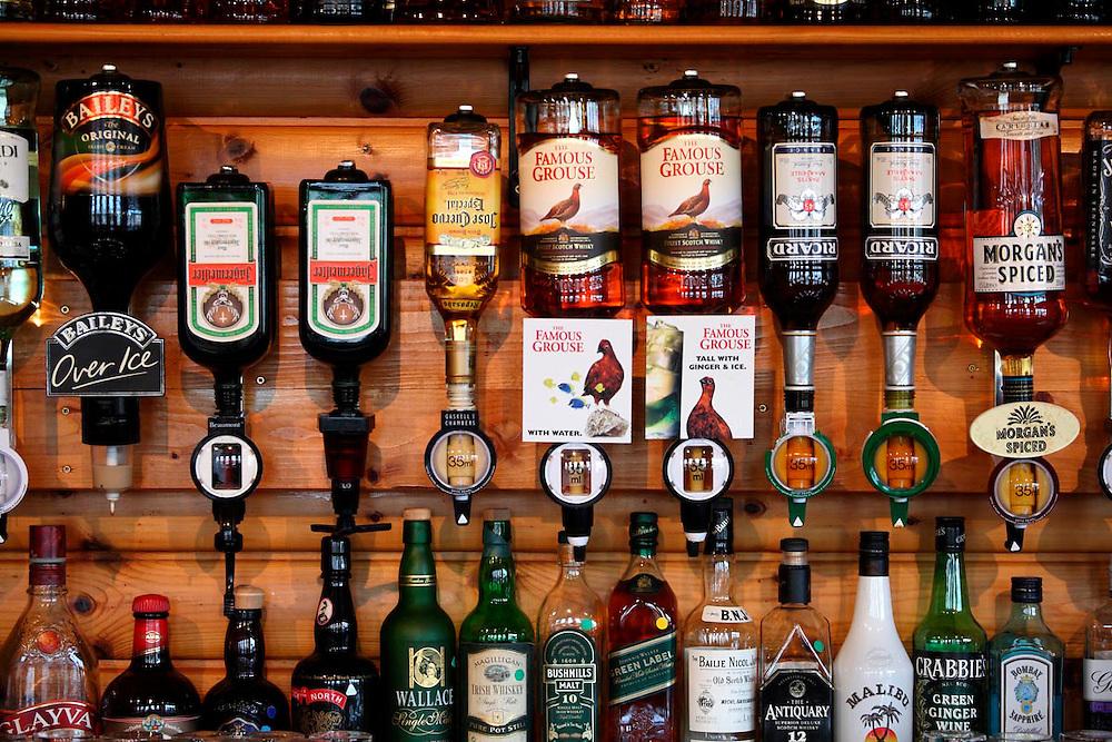 Un pub de Lochinver. Nortwest. Scotland.