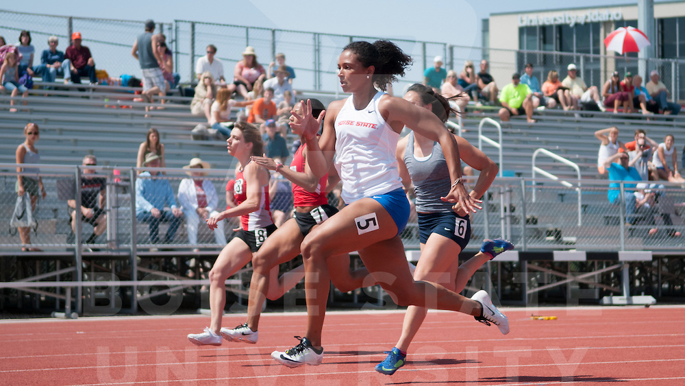 Track + Field, Idaho-Utah Border Clash, Donna Larsen Park, Photo Patrick Sweeney