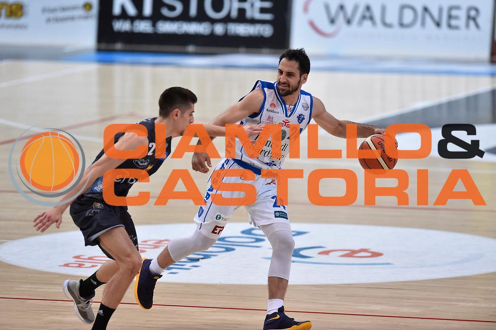 Stipcevic Rok<br /> Dolomiti Energia Trento - Banco di Sardegna Sassari<br /> Lega Basket Serie A 2016/2017<br /> Venezia 08/04/2017<br /> Foto Ciamillo-Castoria