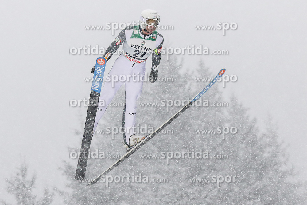 30.01.2015, Skisprungstadion, Predazzo, ITA, FIS Weltcup Nordische Kombination, Val di Fiemme, Skisprung, im Bild Sebastien Lacroix (FRA) // during skijumping of the FIS Nordic Combined World Cup Val di Fiemme at the Skisprungstadion in Predazzo, Italy on 2015/01/30. EXPA Pictures © 2015, PhotoCredit: EXPA/ Alice Russolo