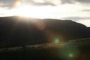 Chapada_MG, Brasil...Por do sol em uma montanha em Chapada...The sunset in the landscape in Chapada...Foto: LEO DRUMOND / NITRO