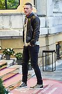 Luke Evans arrives at the Maria Cristina Hotel during 63rd San Sebastian International Film Festival on September 21, 2015 in San Sebastian, Spain.